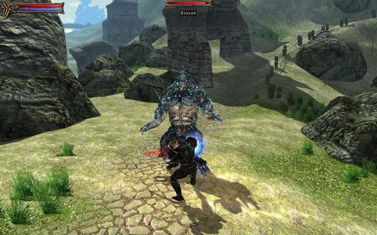 Скриншот к игре Two Worlds