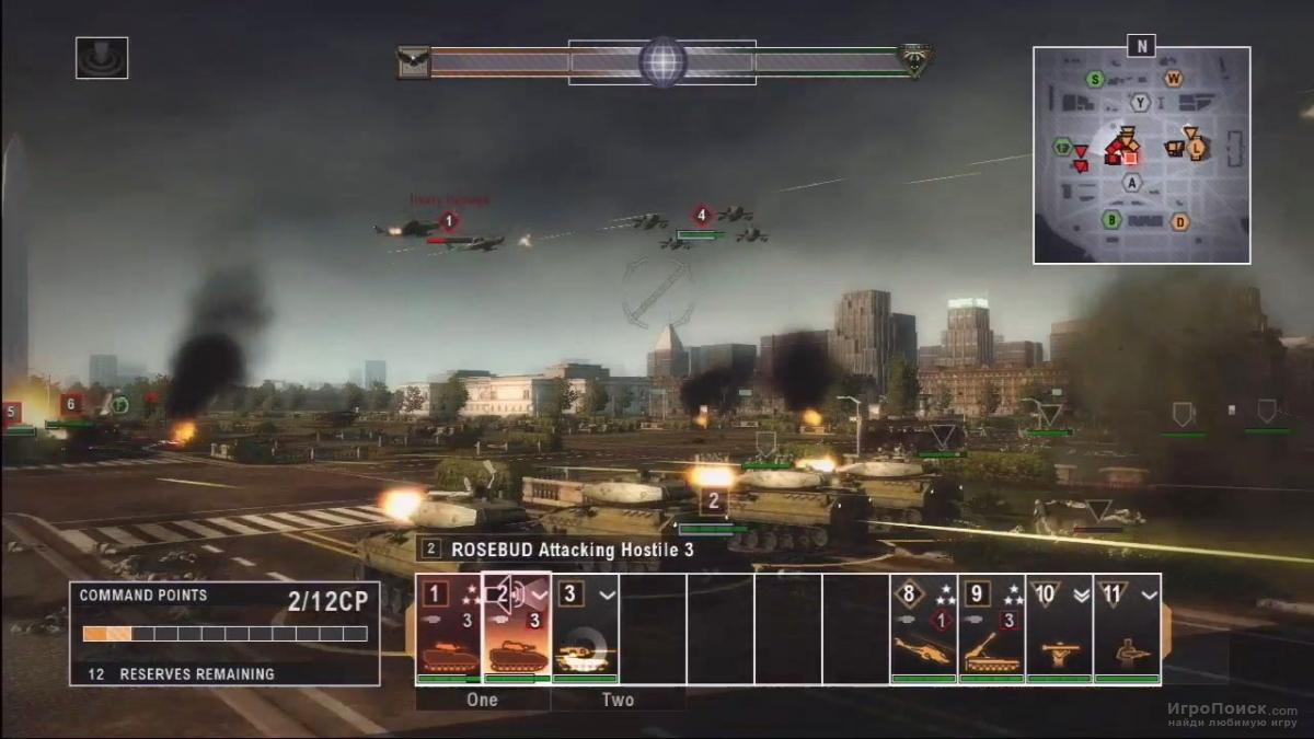 Скриншот к игре Tom Clancy's EndWar