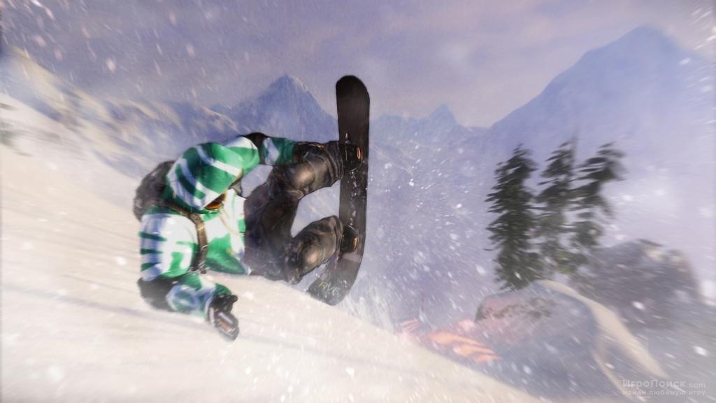 Скриншот к игре SSX: Deadly Descents