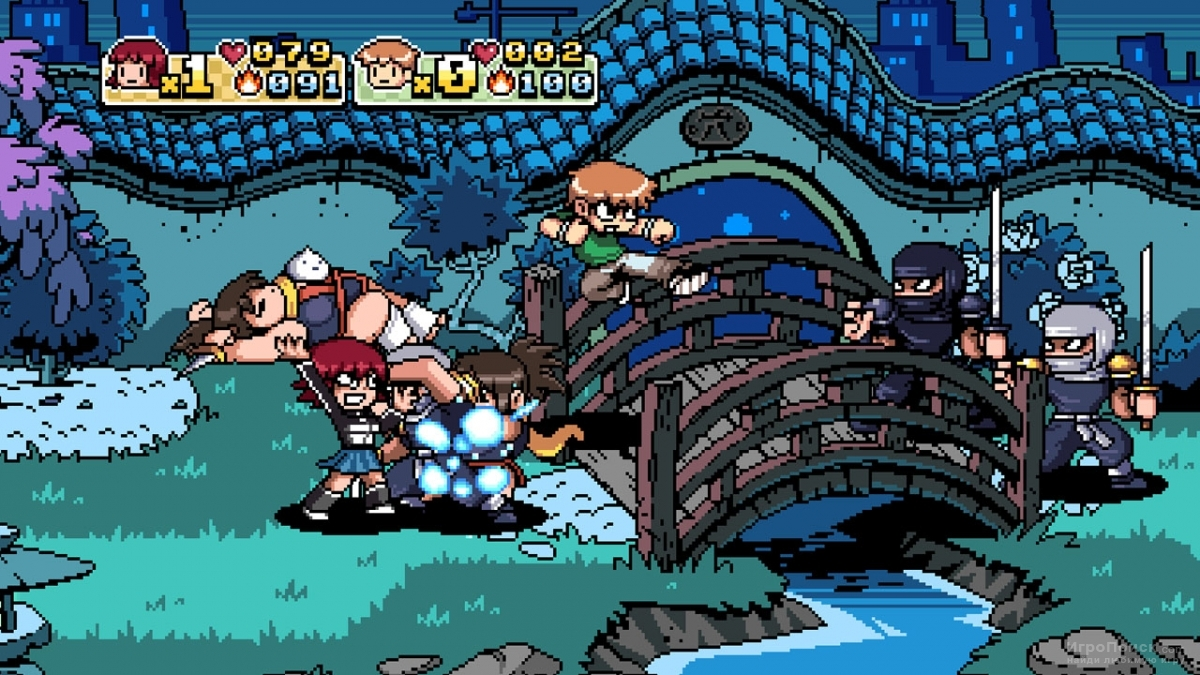 Скриншот к игре Scott Pilgrim vs. the World: The Game
