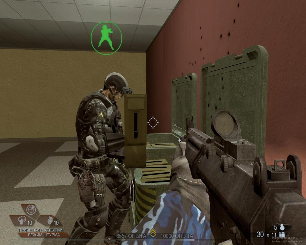 Скриншот к игре Tom Clancy's Rainbow Six: Vegas 2
