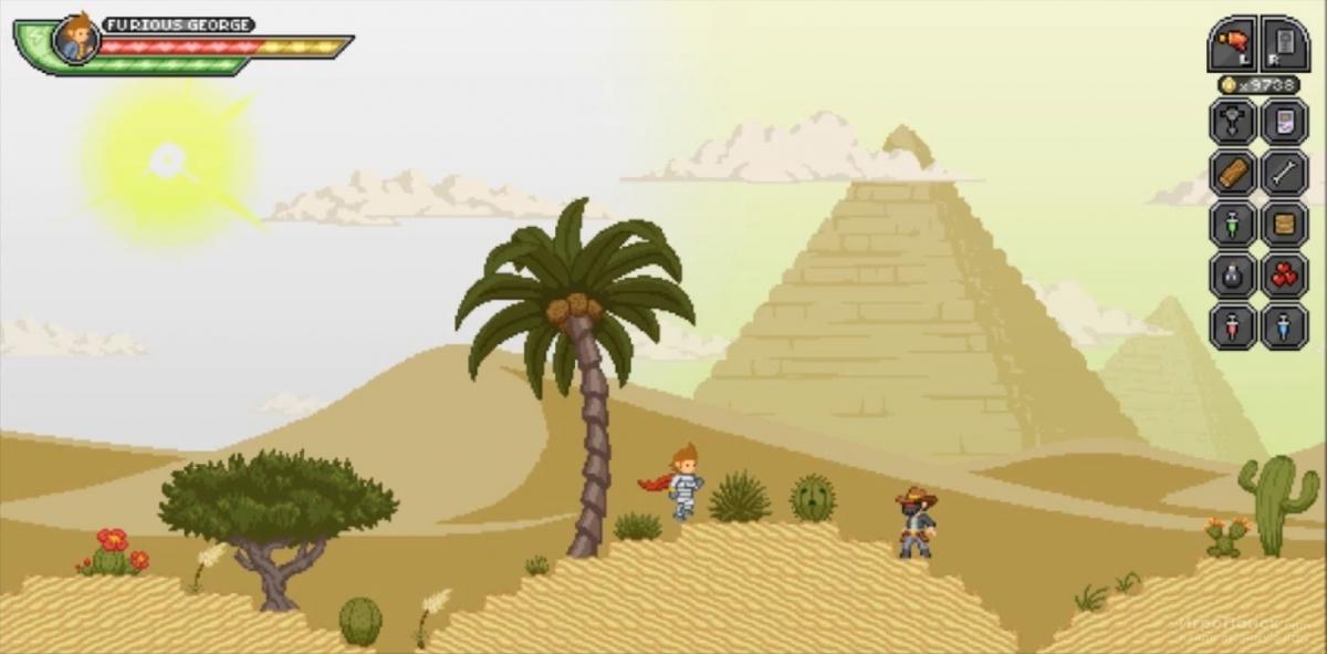 Скриншот к игре Starbound