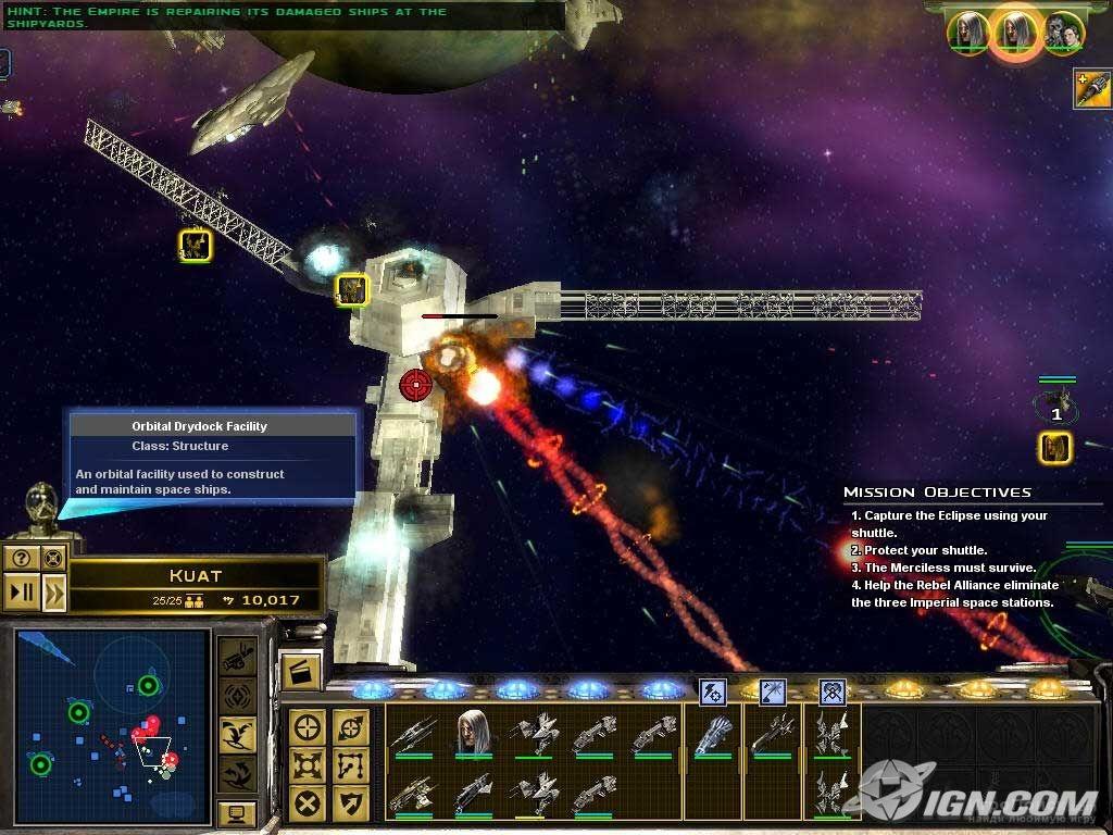 Скриншот к игре Star Wars: Empire at War