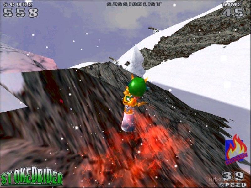 Скриншот к игре Stoked Rider