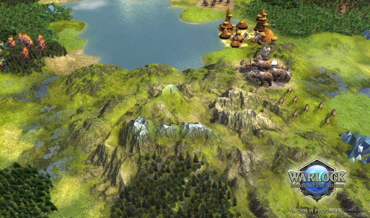 Скриншот к игре Warlock: Master of the Arcane