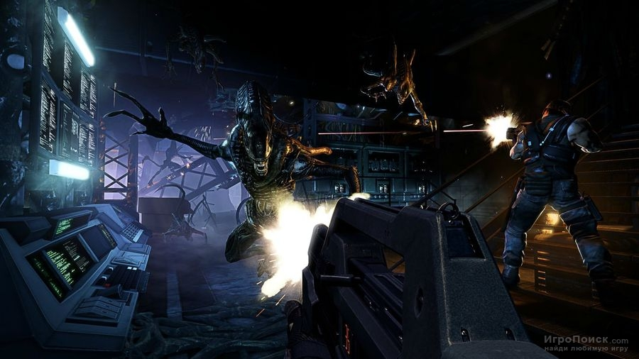 Скриншот к игре Aliens: Colonial Marines