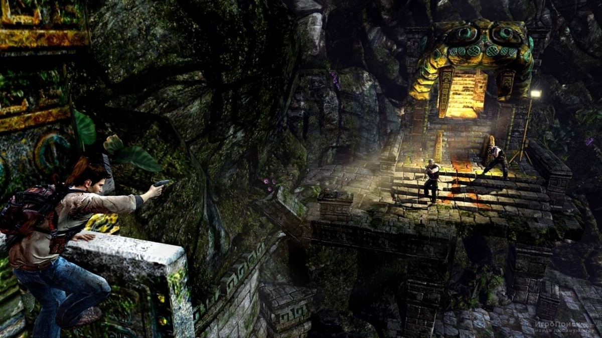 Скриншот к игре Uncharted: Golden Abyss