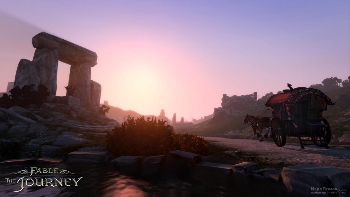 Скриншот к игре Fable: The Journey
