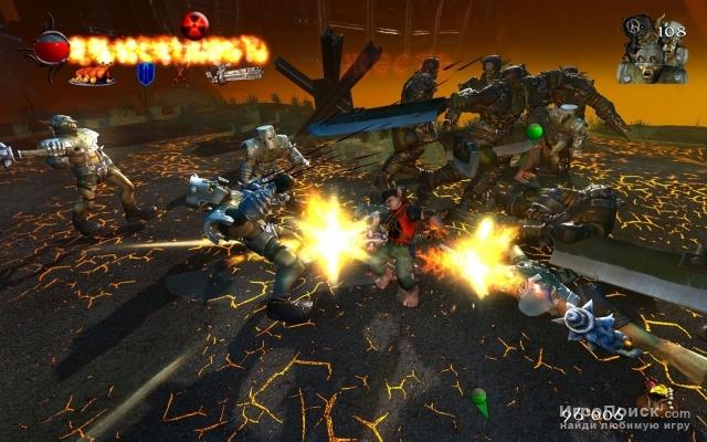 Скриншот к игре Two broken towers