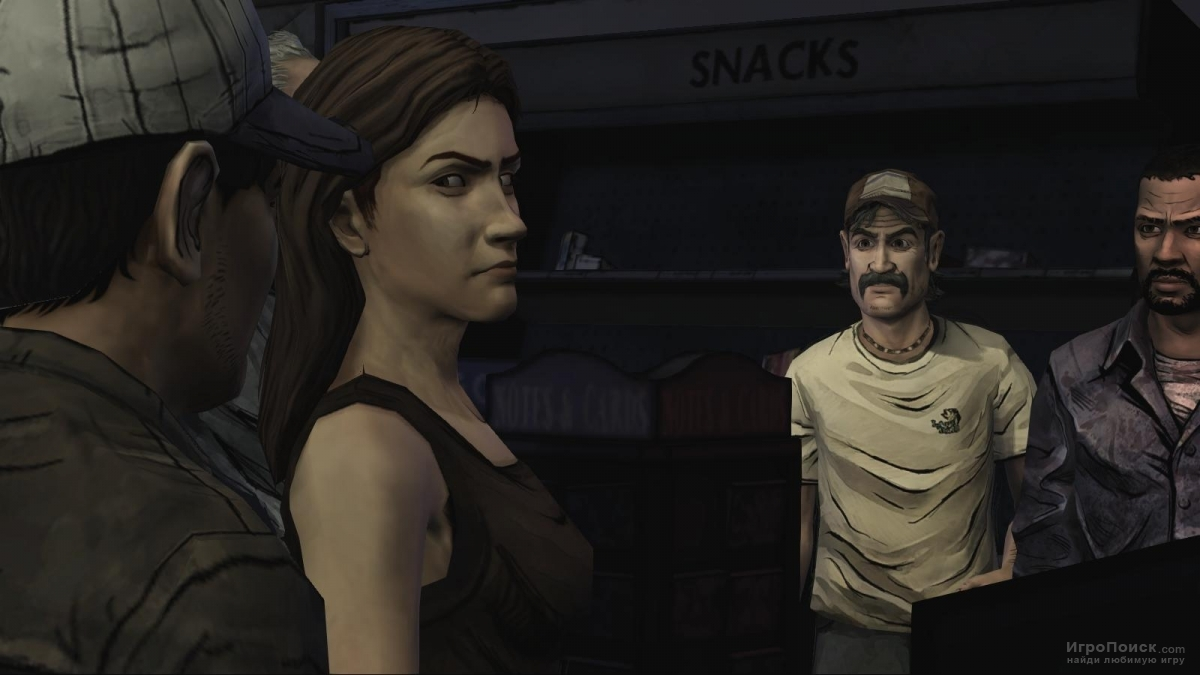 Скриншот к игре The Walking Dead: Season One - Episode 1: A New Day
