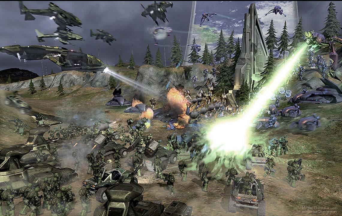 Скриншот к игре Halo Wars