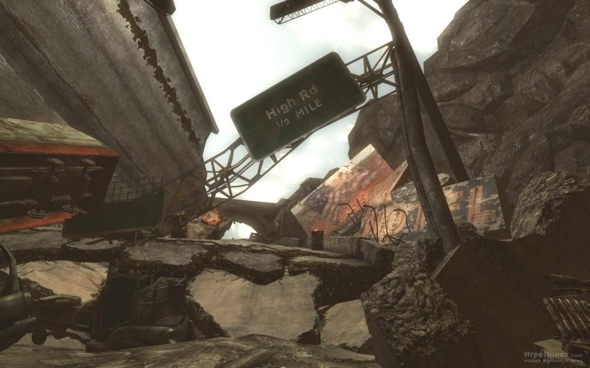 Скриншот к игре Fallout: New Vegas: Lonesome Road