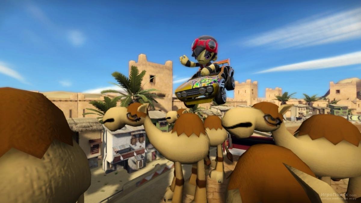 Скриншот к игре ModNation Racers