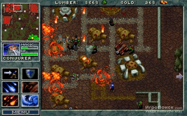 Скриншот к игре Warcraft: Orcs and Humans